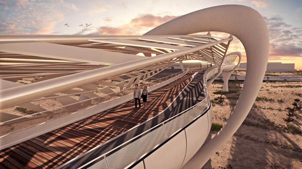 וההצעה של NCA חן אדריכלים (הדמיה: חן אדריכלים 3D VISION)