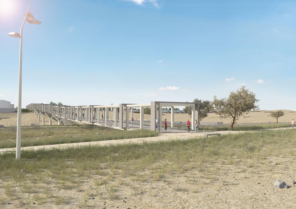 ההצעה של יואב מסר אדריכלים (הדמיה: אנדו, יואב מסר אדריכלים)