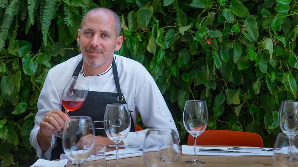 """השף ניר צוק במסעדת """"מאפו"""" החדשה (צילום: ירון ברנר) (צילום: ירון ברנר)"""