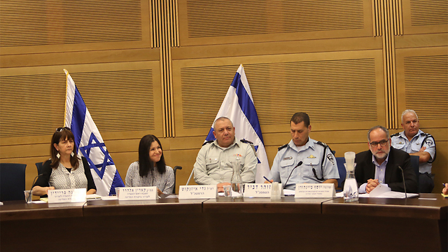 Committee meeting (Photo: Gil Yohanan)