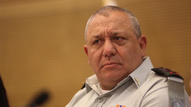 Chief of Staff Gadi Eisenkot (Photo: Gil Yohanan)
