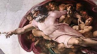 הקפלה הסיסטינית  - ציור בריאת האדם של מיכאלנג'לו ()