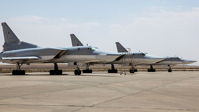 Russian jets stationed in Hamedan (Photo: AP)