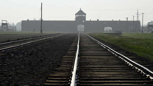 The Auschwitz death camp in Poland (Photo: AP)
