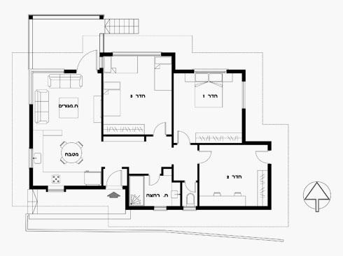 תוכנית הבית המקורי (תוכניות: מיכל שלגי)