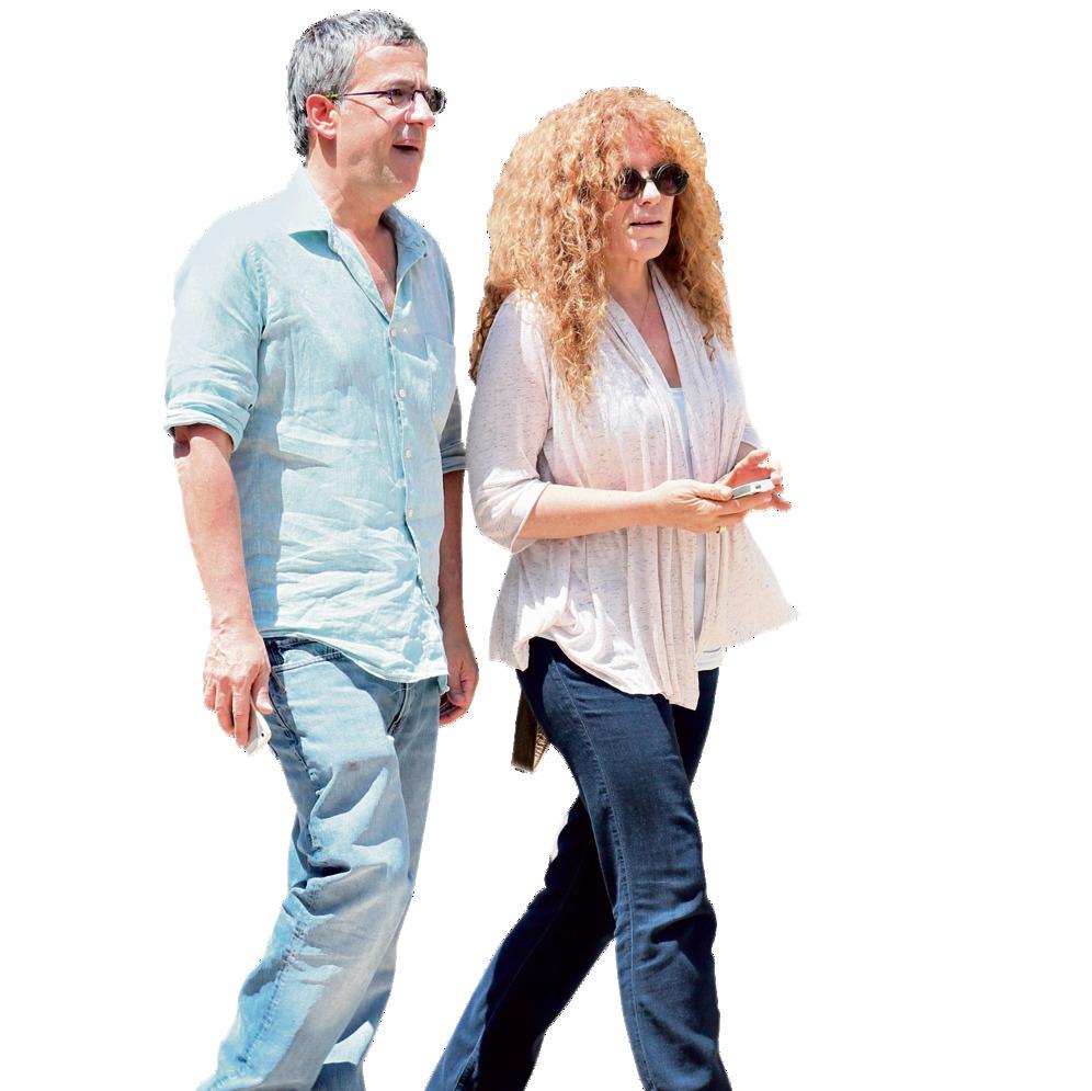 עם בעלה רפי רשף