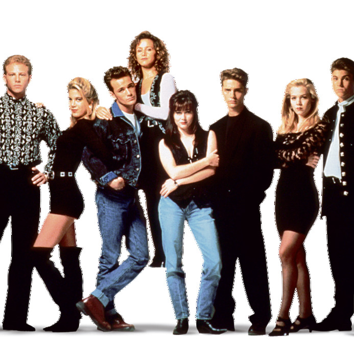 """כוכבי """"בוורלי הילס 90210"""""""