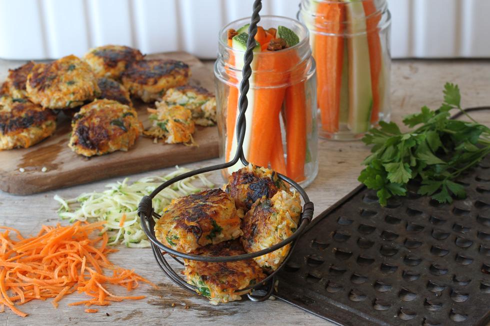 קציצות ירקות עם אורז (צילום, סגנון והכנה: אסנת לסטר)