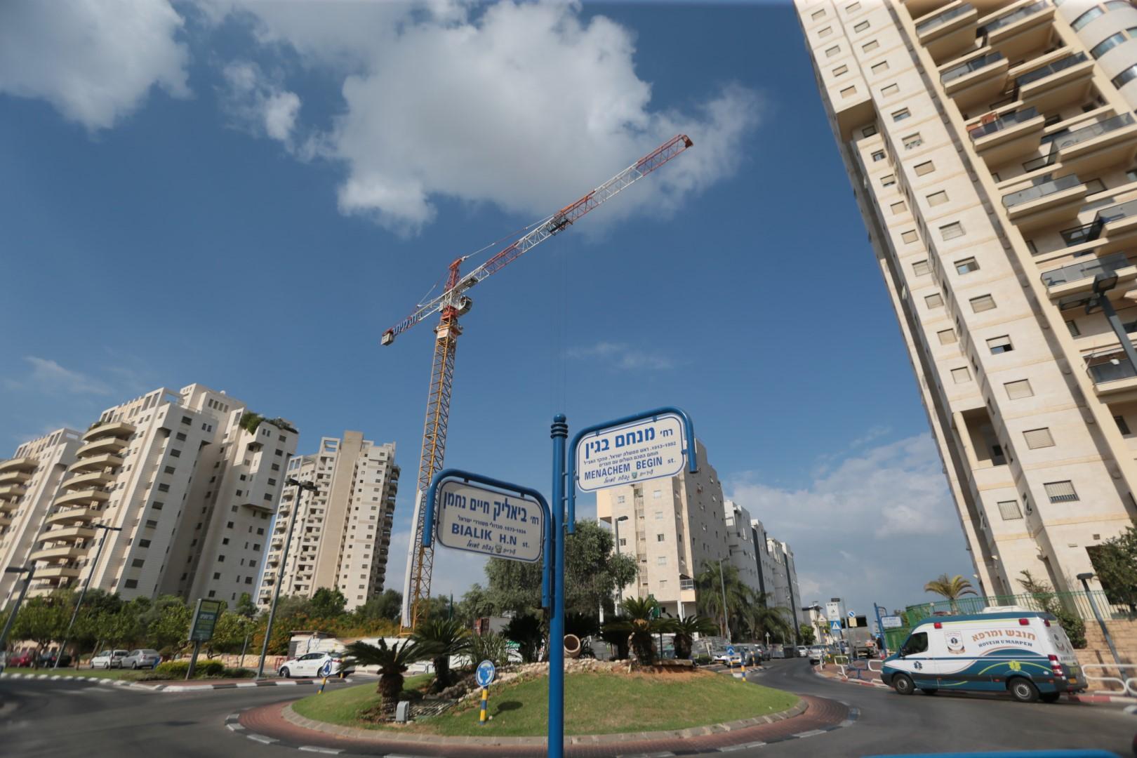 שכונת רמת הדר הוותיקה (צילום: ירון ברנר) (צילום: ירון ברנר)