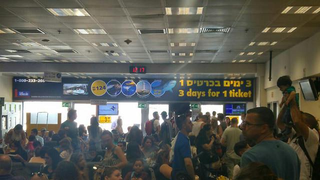Аэропорт Сде-Дов, Тель-Авив. Фото: Шели Гиль