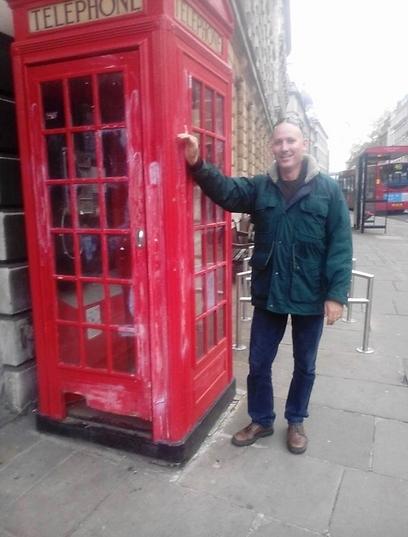 לונדון דווקא חיכתה לו. גלעד פלטין (צילום: אוסף משפחתי) (צילום: אוסף משפחתי)