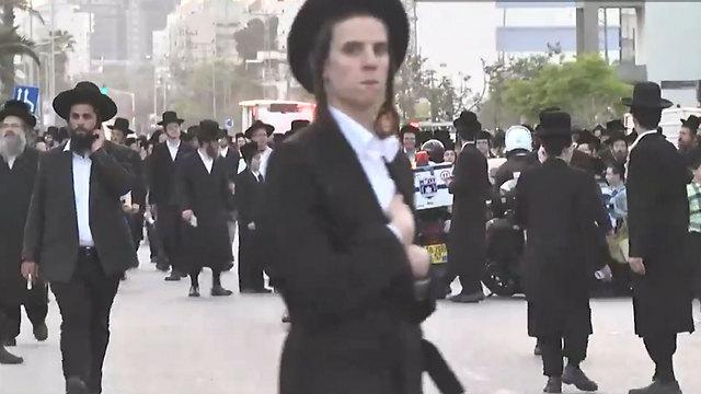 An ultra-Orthodox neighborhood of Ashdod
