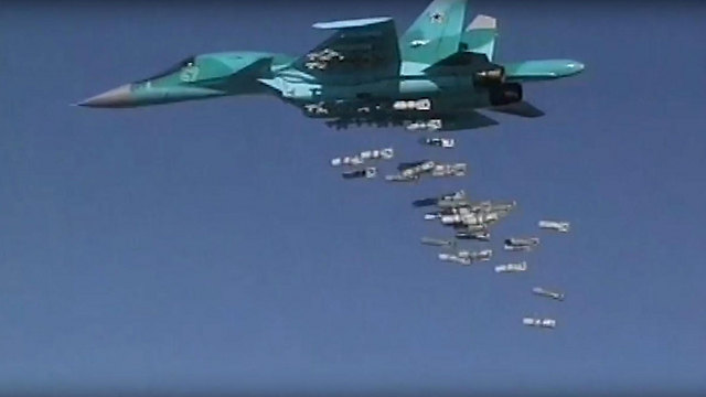 Russian su-34 in Syria (Photo: EPA) (Photo: EPA)