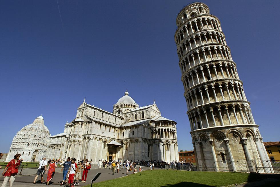 בנייתו ארכה 200 שנה. מגדל פיזה (צילום: GETTYIMAGES) (צילום: GETTYIMAGES)