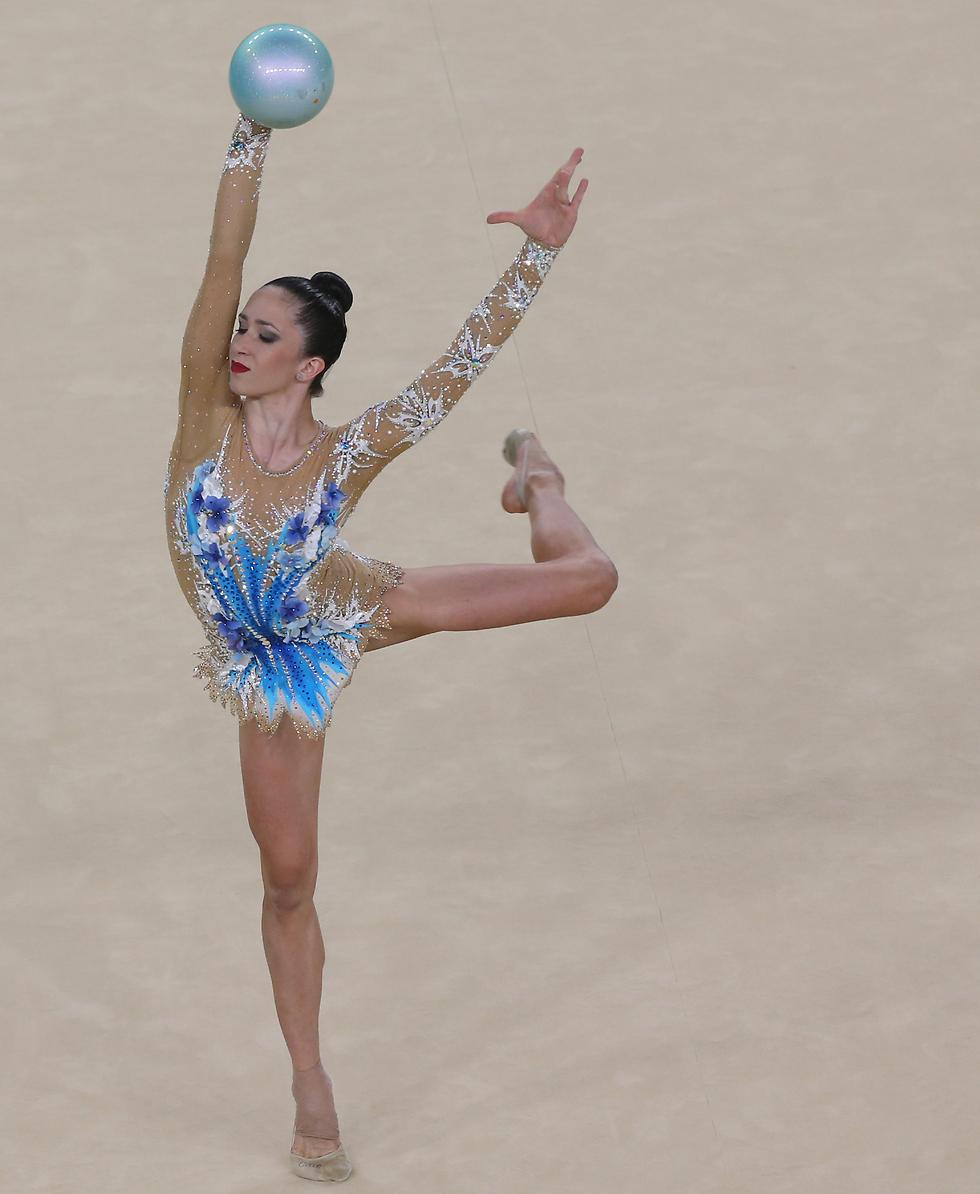 הקלה אדירה אחרי הפרישה. ריבקין באולימפיאדת ריו (צילום: אורן אהרוני)