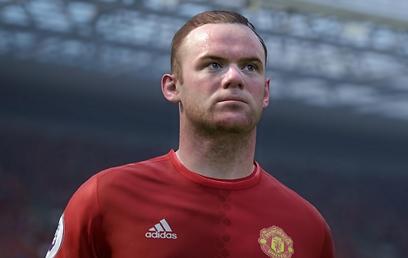 ווין רוני, מתוך FIFA 17 (צילום מסך: EA) (צילום מסך: EA)