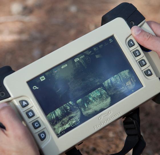 MTGR's handheld display (Photo: Yedioth Ahronoth) (Photo: Yedioth Ahronoth)