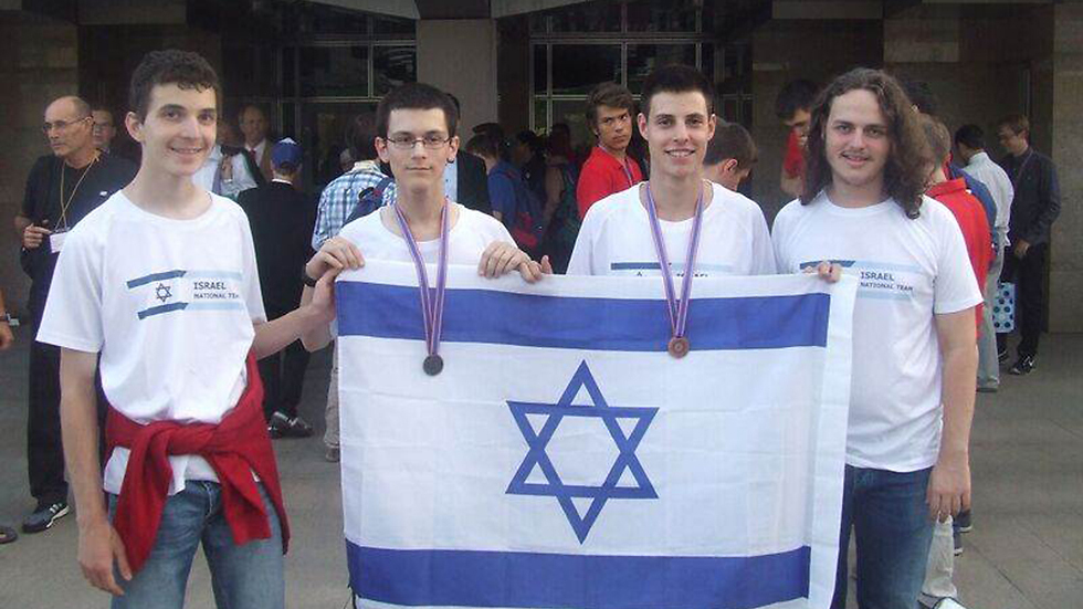 Israeli students at the computer science Olympiad in Kazan