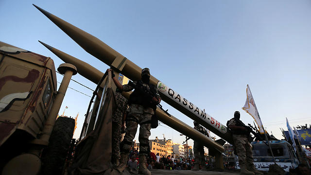 Hamas rockets (Photo: Reuters)