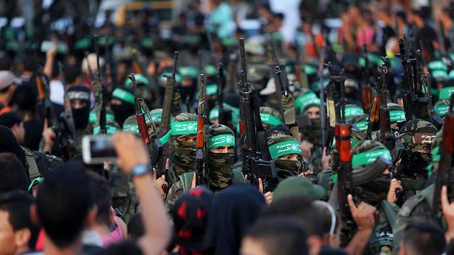 Hamas on parade in Rafah, Gaza (Photo: AP)