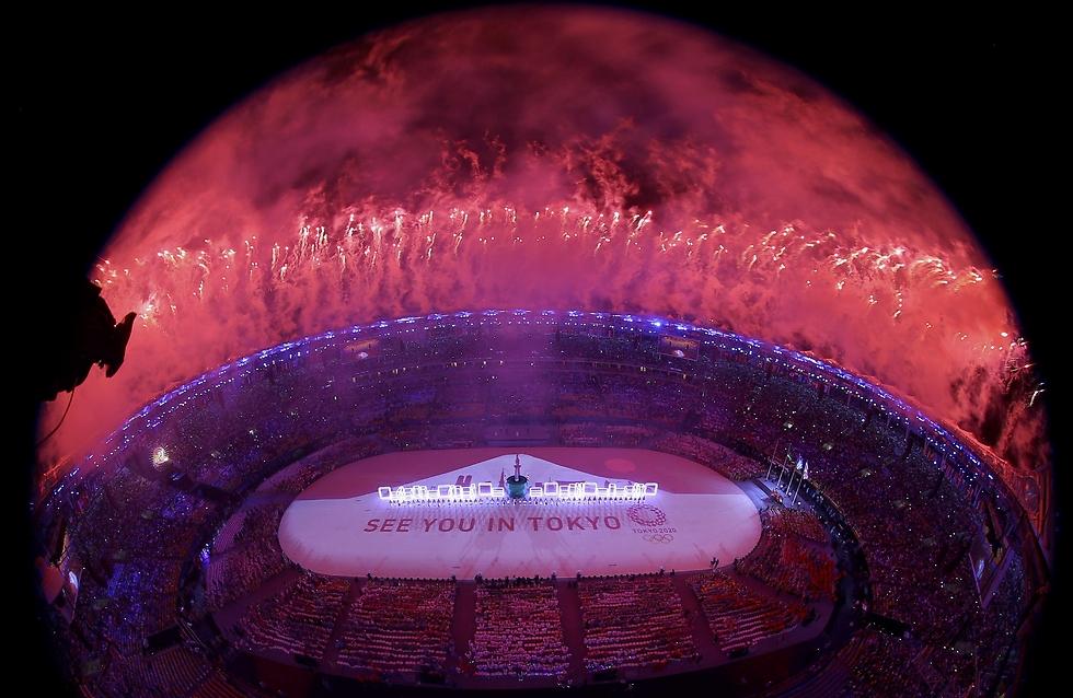טקס הנעילה של האולימפיאדה (צילום: רויטרס) (צילום: רויטרס)