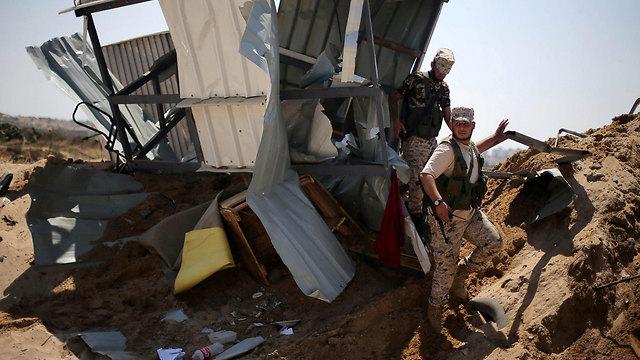 Gaza following Israeli strike (Photo: AFP)