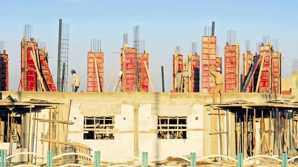 בנייה באופקים (צילום: הרצל יוסף)