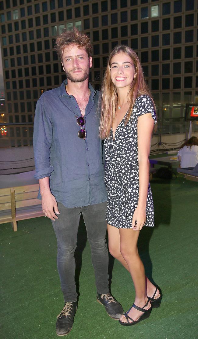 הבמאי והכוכבת הראשית. מיכאל אלוני ומאיה שוהם (צילום: ענת מוסברג)