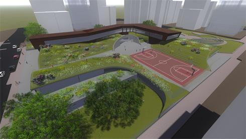 החזון של ''צוקי אביב'' כבר אושר בידי אדריכל העיר ומהנדס העיר (תוכניות: באה אדריכלים ובוני ערים)