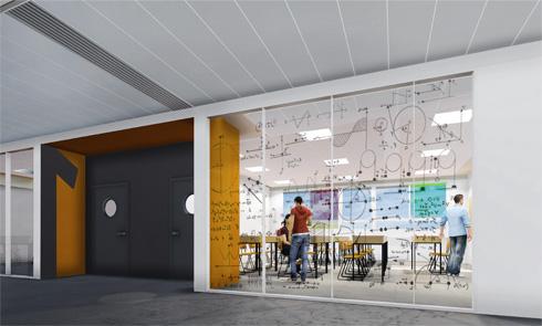 עיריית ת''א מדגישה את נושא השקיפות במוסדות החינוך. לוחות הזכוכית תומחרו בתקציב גבוה (תוכניות: באה אדריכלים ובוני ערים)