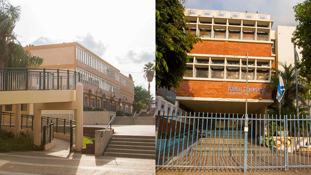 תיכון בנתניה ובחדרה (צילום: עידו ארז) (צילום: עידו ארז)