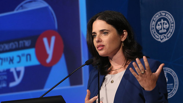Minister Shaked. 'I believe the more Jewish a state we are, the more democratic a state we will be.' (Photo: Zvika Tishler)