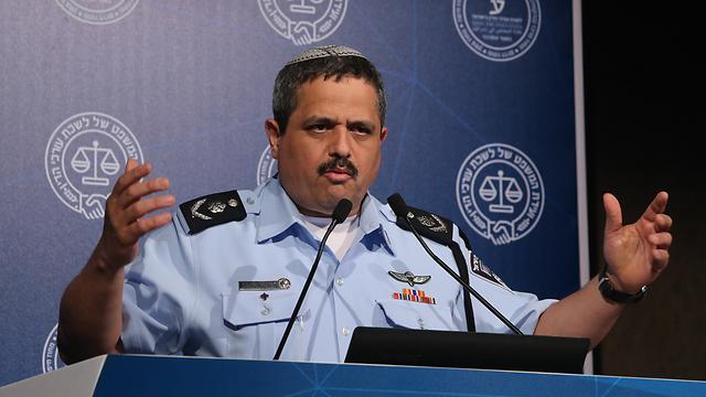 """מפכ""""ל המשטרה רב-ניצב אלשיך, אתמול (צילום: צביקה טישלר) (צילום: צביקה טישלר)"""