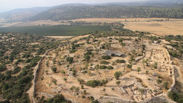 Khirbet Qeiyafa archaeological site (Photo: Bible Lands Museum Jerusalem)