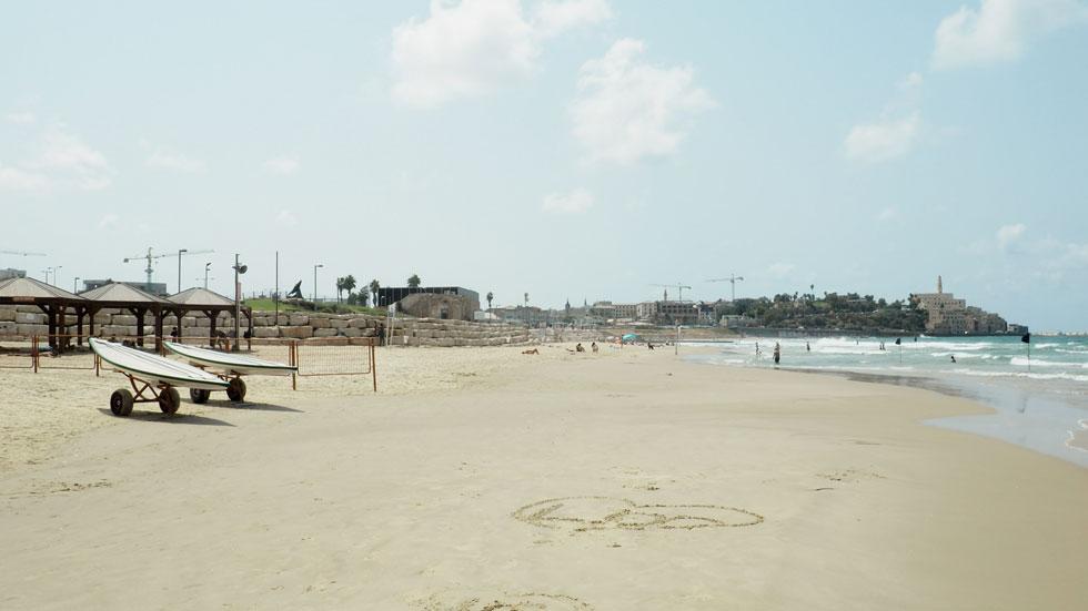 המקום: חוף מנטה ריי, על גבול יפו-תל אביב  (צילום: אורית פניני)