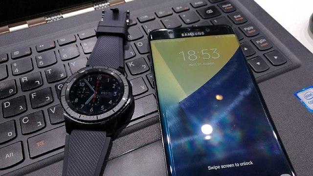 Samsung Gear S3 LTE (צילום: גיא לוי)