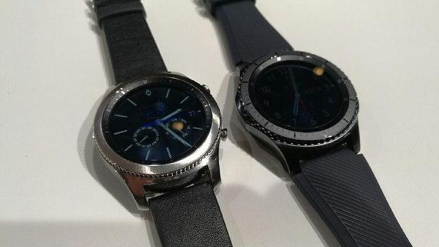 שעון חכם של סמסונג (צילום: גיא לוי)