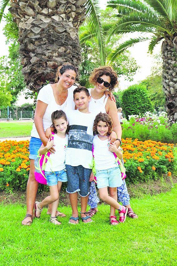 משפחת ברון (צילום: דימה דורף)