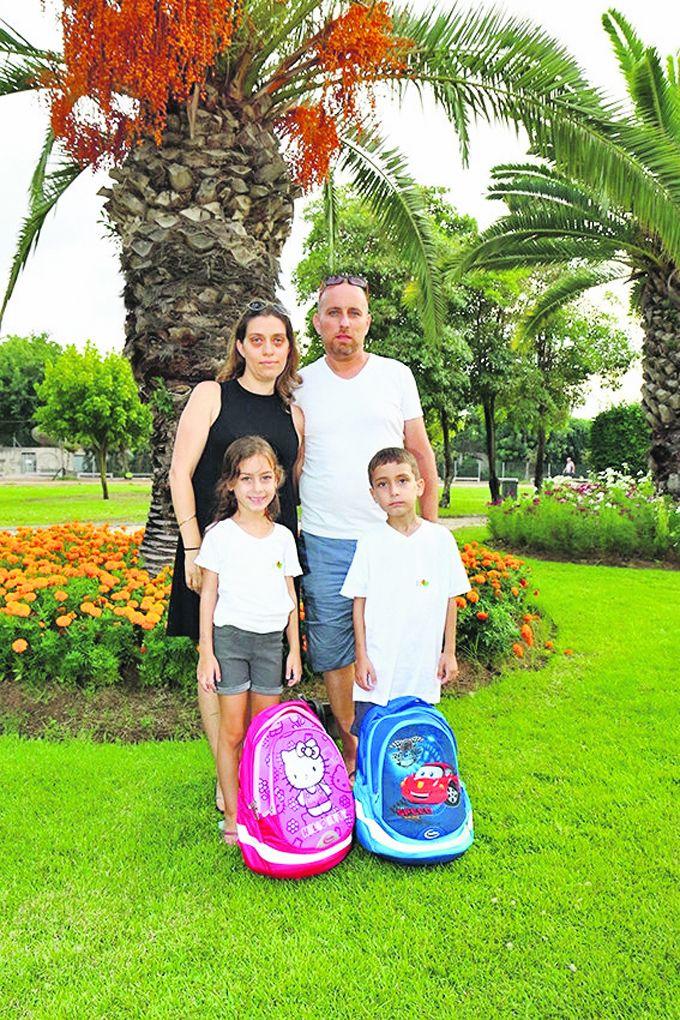 משפחת גבאי (צילום: דימה דורף)