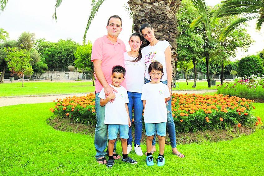 משפחת ברכה (צילום: דימה דורף)