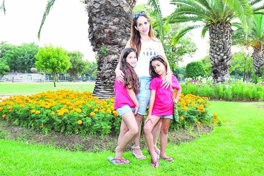 משפחת חמרה (צילום: דימה דורף)