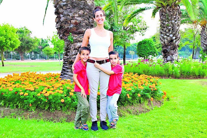 משפחת וקסלמן (צילום: דימה דורף)