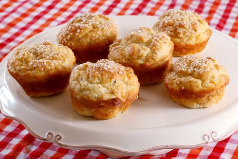 מאפינס גבינות ושמן זית (צילום: צביקה טישלר)
