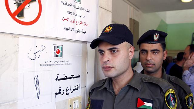 PA security forces (Photo: AP)