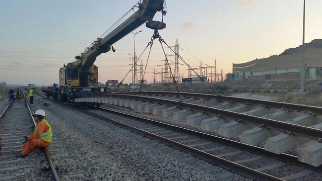 (צילום: רכבת ישראל) (צילום: רכבת ישראל)