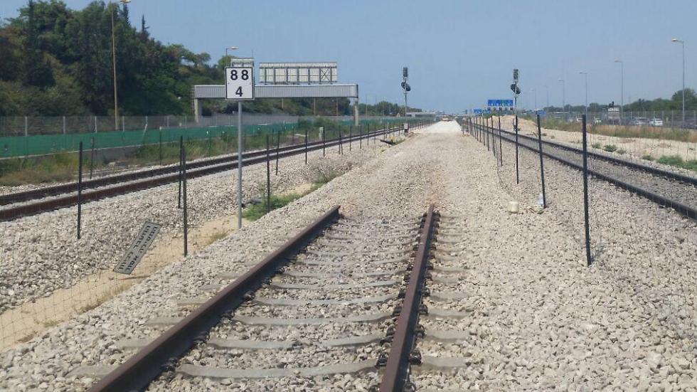 """ברכבת שואלים: """"ביקשנו מראש ממשרד רה""""מ - למה לא קיבלנו התרעה מספקת?"""" (צילום: רכבת ישראל) (צילום: רכבת ישראל)"""
