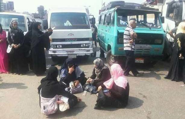מפגינות בקהיר