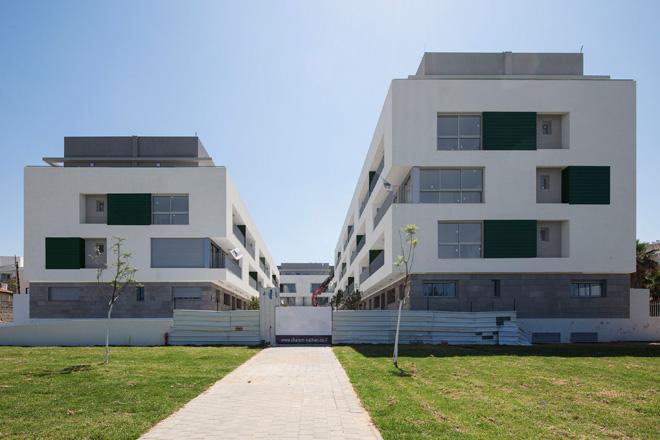 גני שפירא, הפרויקט הראשון של דיור בר השגה בתל אביב. לחצו לכתבה המלאה (צילום: אביעד בר נס)