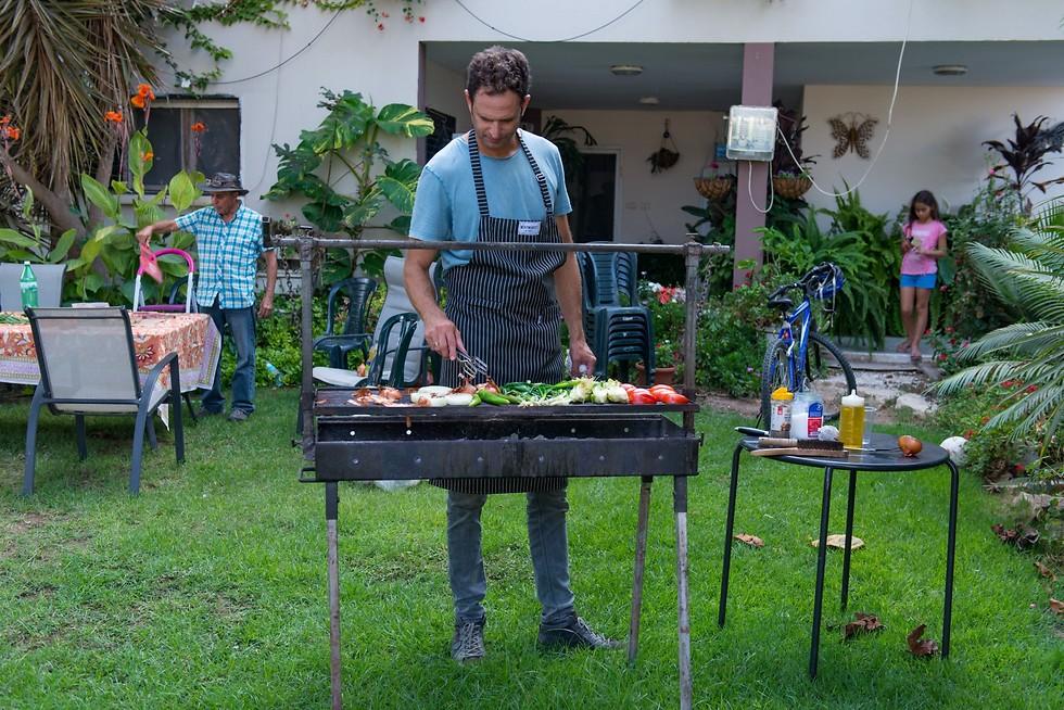 שף עם בשר, ירון קסטנבוים (צילום: ירון ברנר)