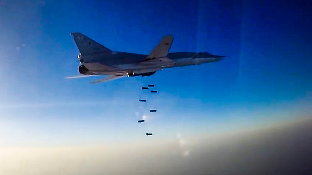 Russian TU 22M3 bomber jet above Syria (Photo: AP)